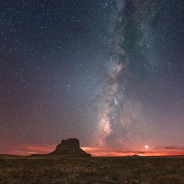 Fajada Butte in Chaco Canyon, New Mexico. Image via RodNeil Thomas
