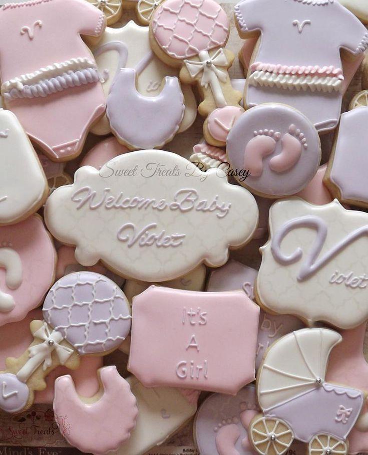 baby girl cookies baby shower cookies baby feet cookie monster cookie