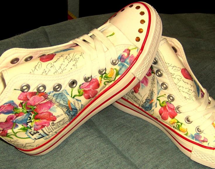 Módní obuv...Pařížanka...