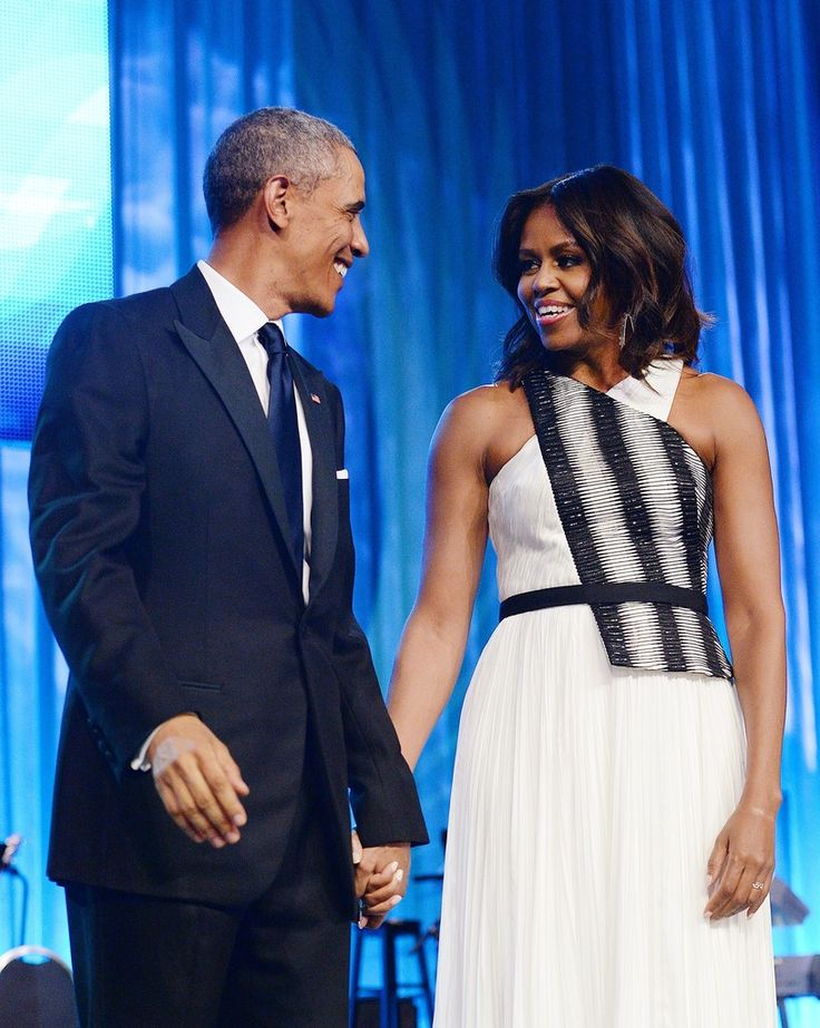 Barack Obama;Michelle Obama Photos: Congressional Black Caucus Foundation Dinner