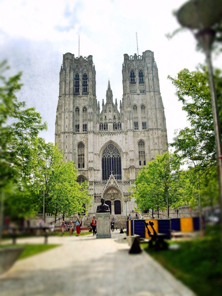 Catedral de San Miguel y Santa Gúdula (Bruxelles - Belgium)