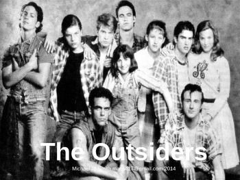 the outsiders text response Everything you need to use se hinton's award winning novel, the outsiders effectively in your classroom a no-prep standards based interactive notebook literature guide with follow-up reading response questions for every chapter as well as vocabulary, writing projects, activities and enrichment projectsteacher.