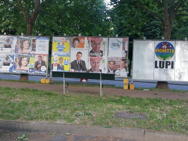 L' Orsetto su cartelloni!!! :-)