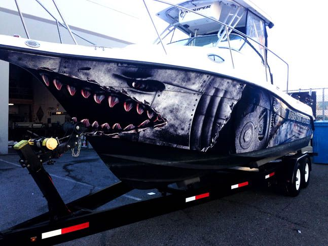 Fish The World Boat Wrap By Pleasantdetailscom CAR BOAT VINYL - Sporting boat decalsbest boat wraps custom vinyl images on pinterest boat wraps