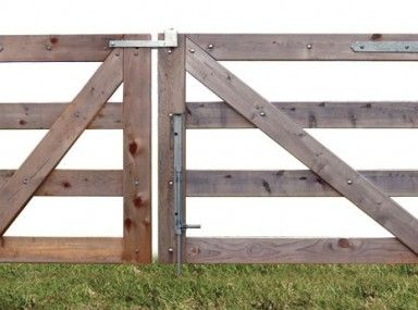 how to build fence on slope