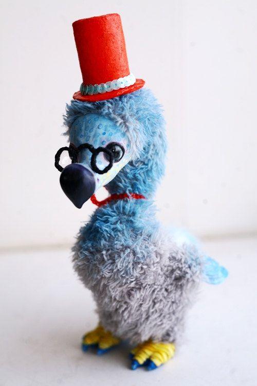 Blue Dodo by chercheto on Etsy (Alice in Wonderland Room)