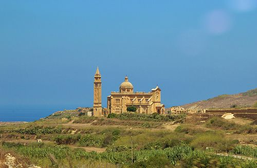 Shrine of Our Lady of Ta Pinu,Gozo,Malta