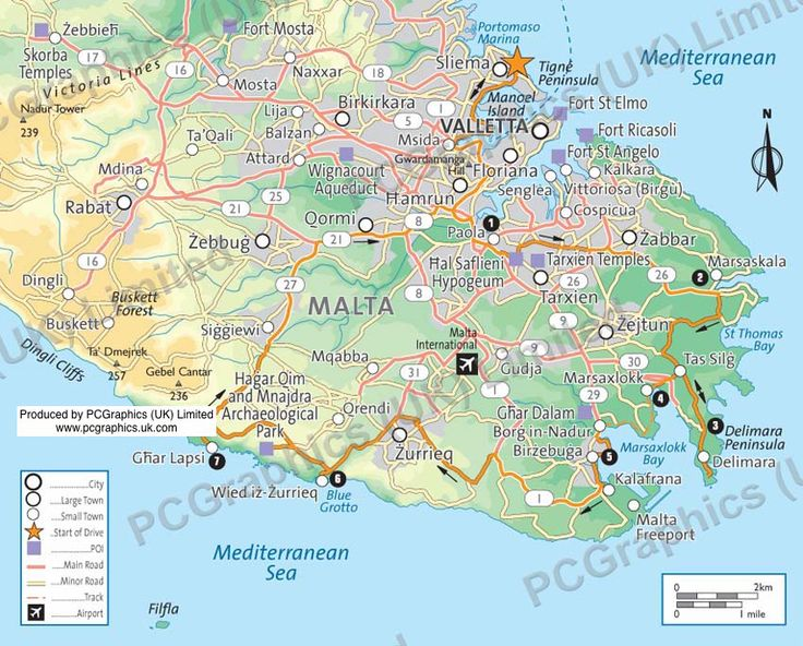 Where Is Malta Island On The Map