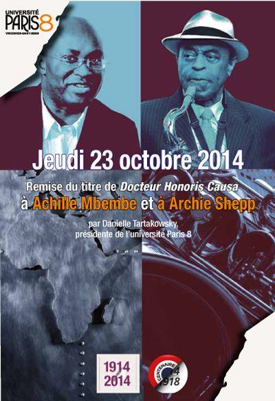 ARCHIE SHEPP à l'Université de SAINT DENIS Paris 8