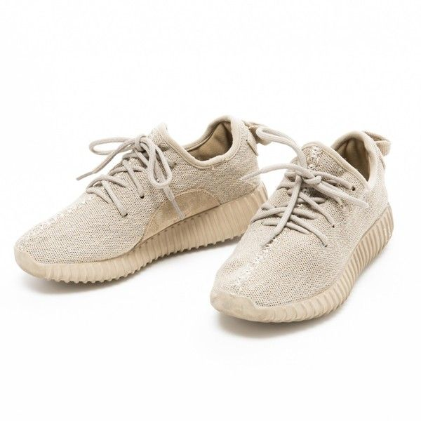 Canvas trainers YEEZY ($545) ❤ liked on Polyvore featuring shoes, sneakers, canvas sneakers, canvas shoes, canvas trainers, plimsoll shoes and plimsoll sneakers