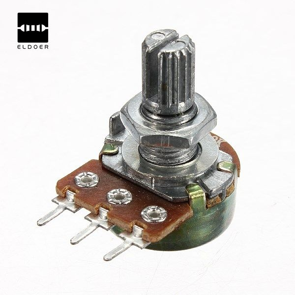 Hot 2/5/10/50/100/250/500 k ohm potensiometer linear tunggal grosir baru listrik unit potensiometer
