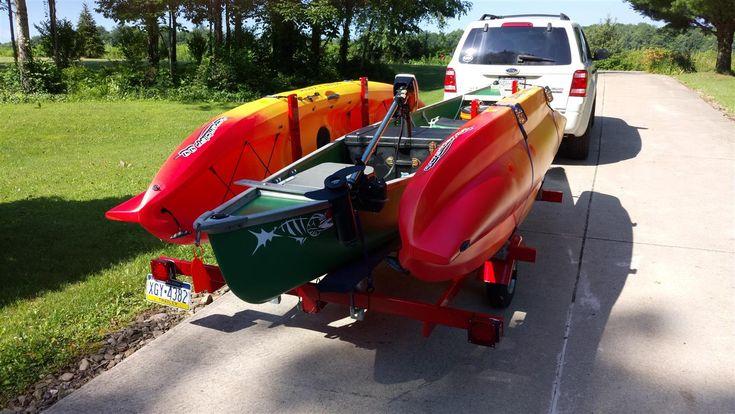 DIY Canoe & Kayak Trailer