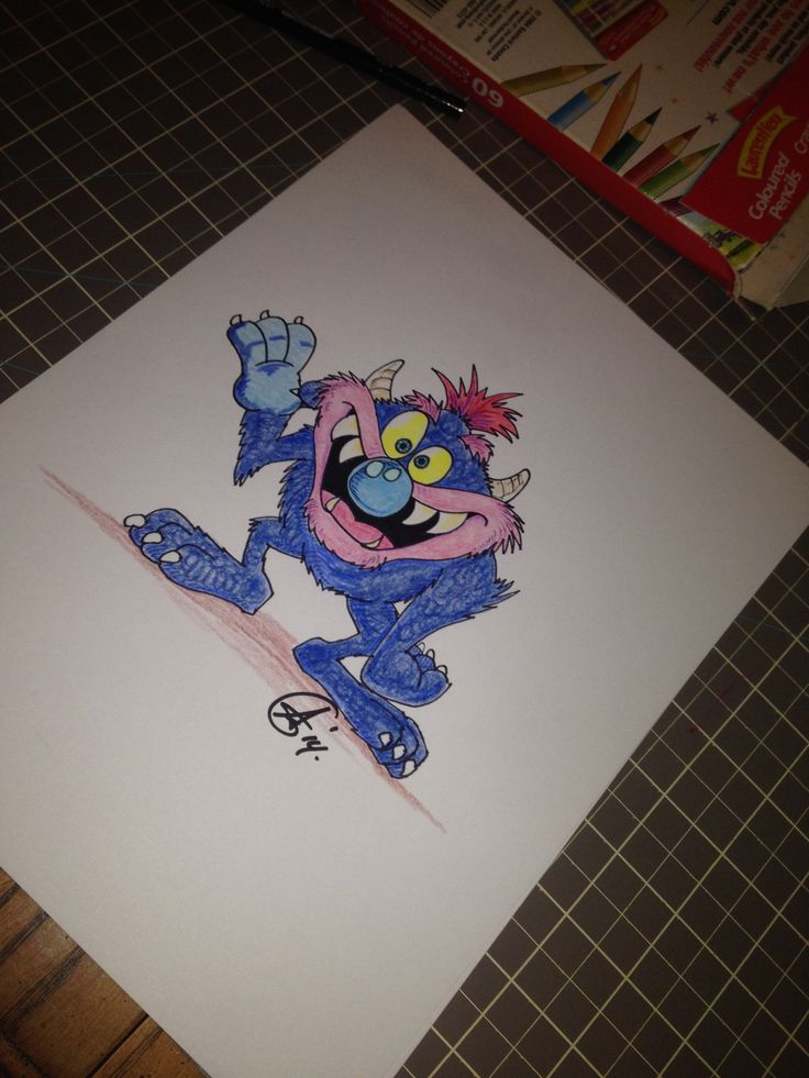 My Pet Monster - Join Aaron every Sunday via his Facebook Page: Are you a Blockhead... I am for your chance to win an original drawing!