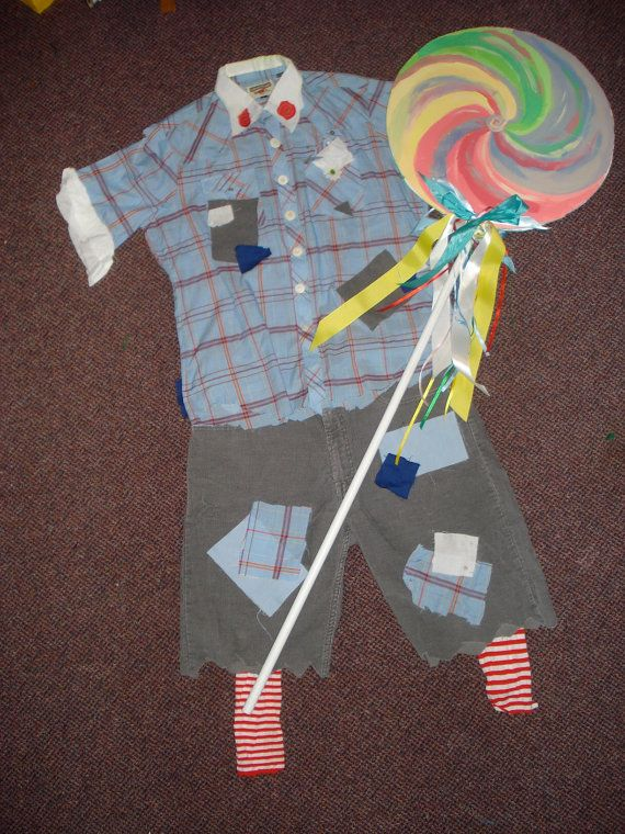 wizard of oz lollipop kid adult costume by ChristopiaCreations