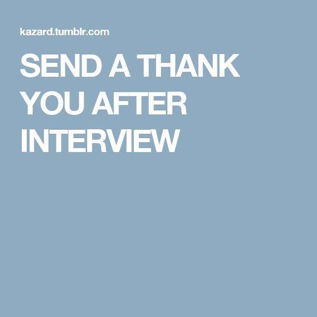 Πάνω από 25 κορυφαίες ιδέες για Thank you after interview στο - interview follow up letter