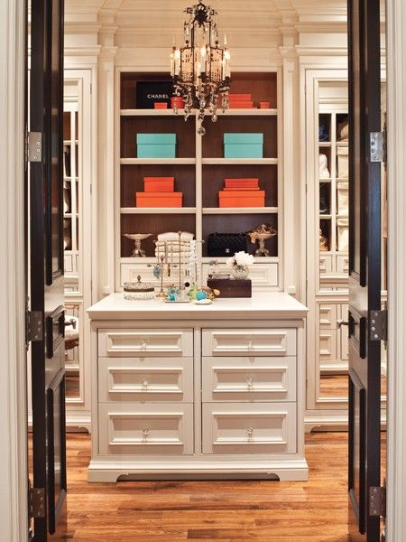 Glam Closet | Photo Gallery: Chic Closets & Dressing Rooms | House & Home | photo Ted Yardwood