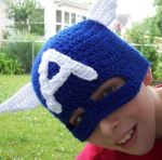 Free Crochet Halloween Mask Patterns : Free Crochet Halloween Mask Patterns Avengers: Captain ...