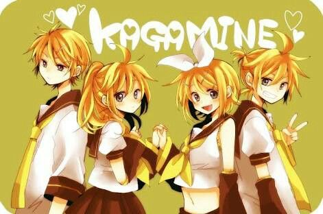 Kagamine siblings