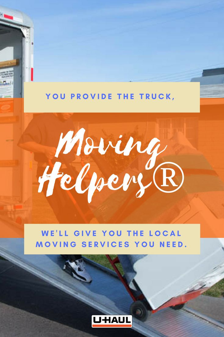 You provide the truck, we'll give you the local moving services you need. If you only need moving services at one location, just enter the one location and date. You are in complete control of your move! Our moving labor does not receive payment until the moving services are completed to your satisfaction. Once satisfied, simply give the Moving Helper the Payment Code and let us do the rest! I Planning for a Move