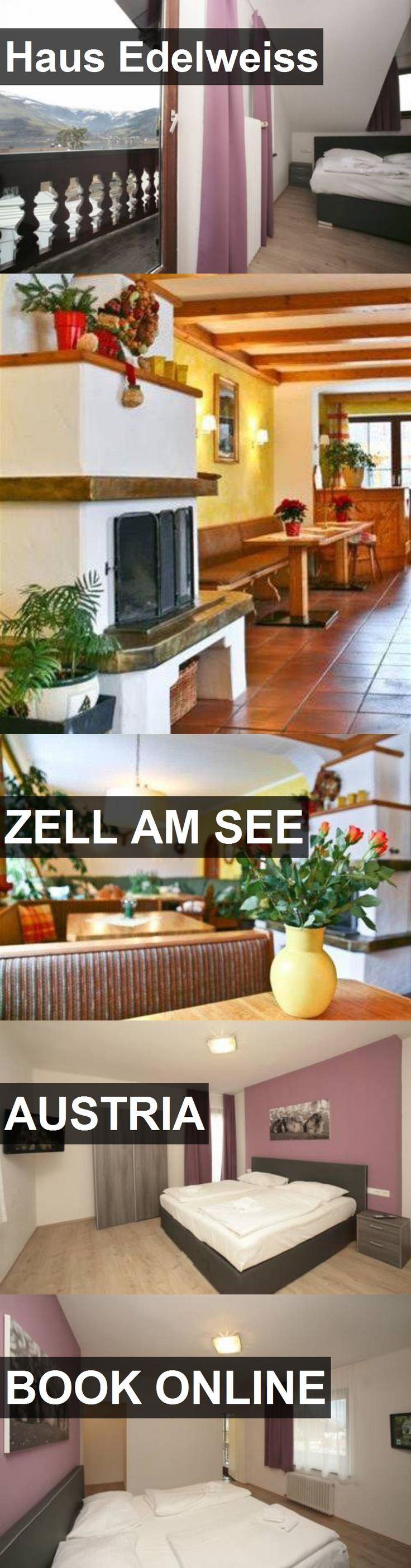 Hotel Haus Edelweiss in Zell am See, Austria. For more information, photos, reviews and best prices please follow the link. #Austria #ZellamSee #travel #vacation #hotel