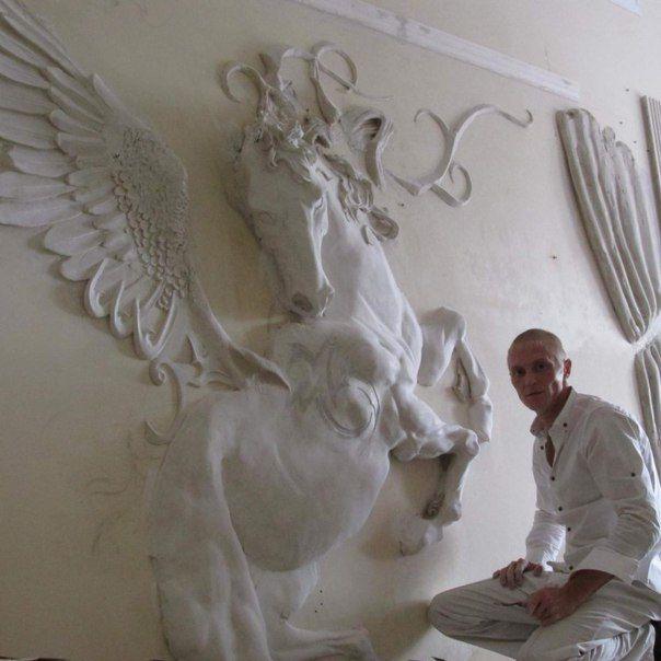 Photos De Valeri Koudrine Plaster Wall Art Plaster Art Drywall Art