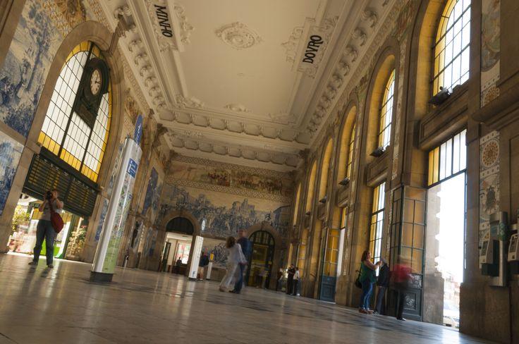 Estación de trenes.
