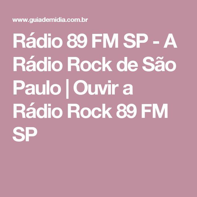 Rádio 89 FM SP - A Rádio Rock de São Paulo | Ouvir a Rádio Rock 89 FM SP