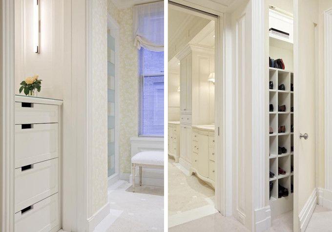 Murdock Solon Architects - Fifth Avenue Residence - Closet, Custom Millwork
