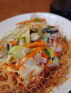Recetas Japonesas en español!: Sara Udon - Fideo frito con carne de cerdo y gambas