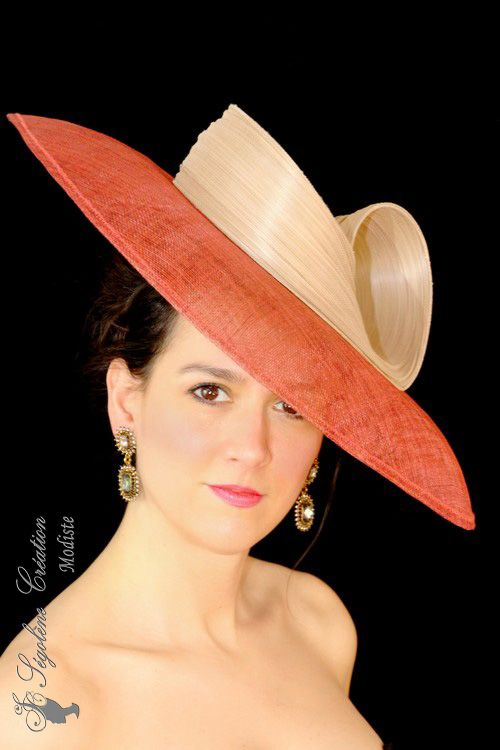 654a89849ef0f Collection chapeaux 2018, chapeau de cérémonie et mariage, capeline, chapeau  de paille, grand chapeau, joli et beau chapeau