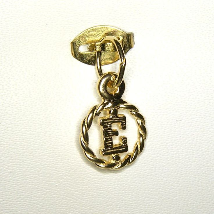 Alphabet Charm - chr-0787 Solid Gold | Sterling Silver
