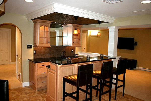 320 best images about basement bar designs on pinterest for Basement kitchen ideas pictures