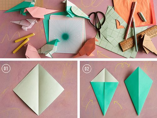 1997 blue bird wiring diagram cluster origami birds, love birds and origami love on pinterest love bird origami diagram #9