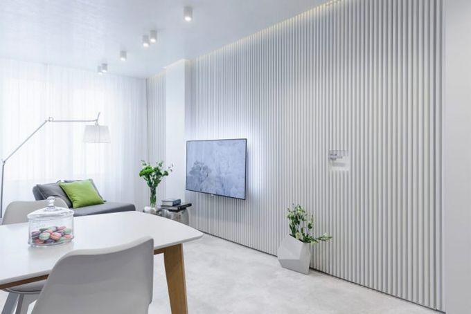 Квартира в Болгарии http://kleinburd.ru/news/kvartira-v-bolgarii/  Pavel Yanev создал эту светлую квартиру в стиле минимализма. В ней преобладают белые цвета. Апартаменты расположены в Софии, Болгария.   Источник » fresher.ru  » Квартира в Болгарии