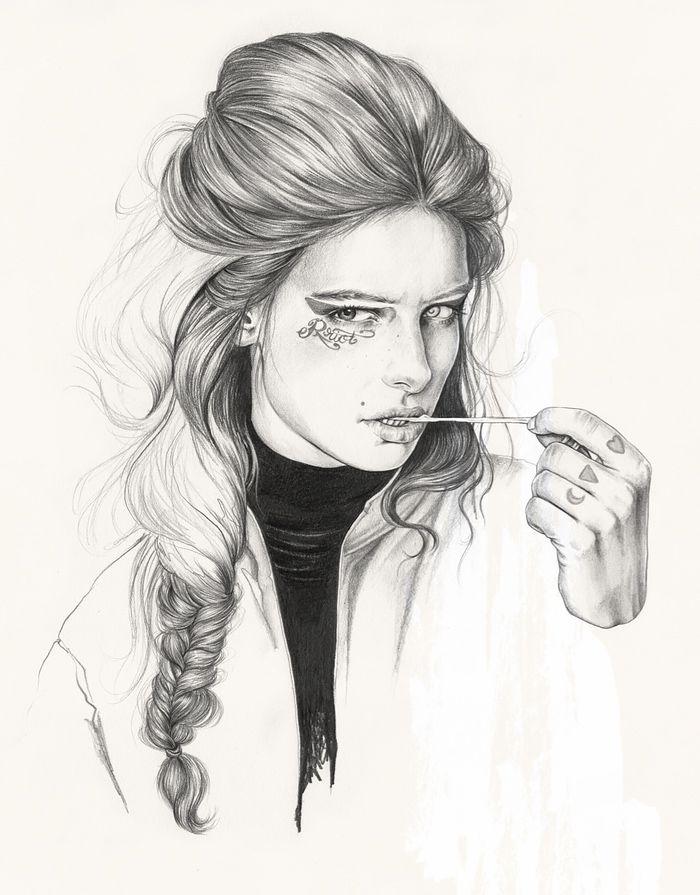 Fashion Illustrations by Esra Røise