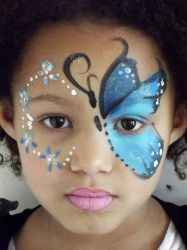 butterfly stencil for face painting google search
