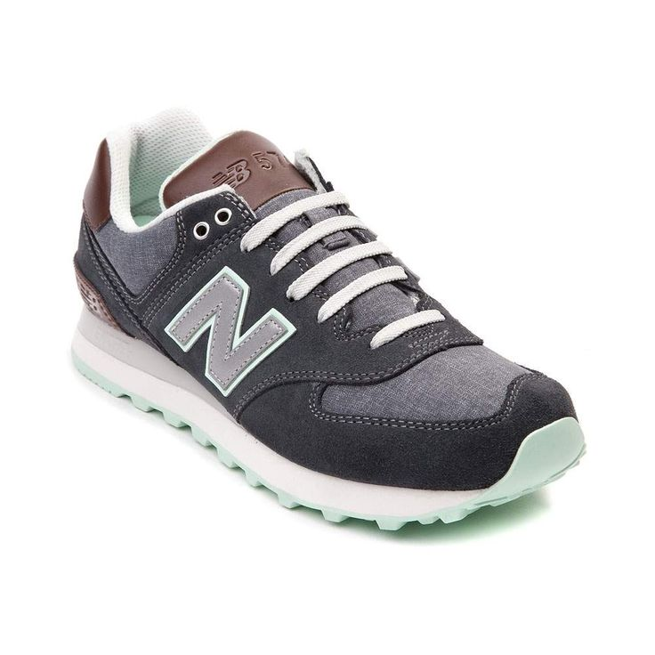Embark on an epic adventure with the new 574 Athletic Shoe from New Balance. The 574 Athletic Shoe, from the Cruisin' Collection, sports a classic design, constructed with breathable textile uppers and durable suede overlays.   <br><br><u>Features include</u>:<br> > Textile upper with suede overlays<br> > Lace closure offers a secure fit<br> > Padded tongue and collar offers ankle support and cushion<br> > Lightweight EVA molded midsole provides shock absorbing comfort<br> > Durable rubber…