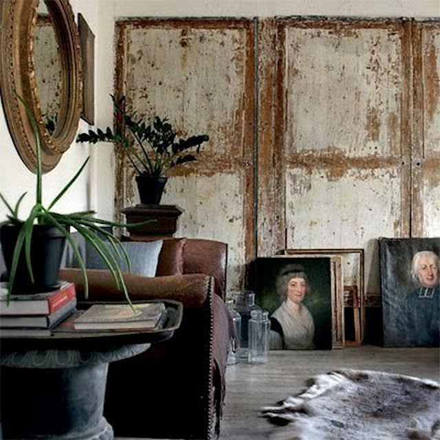 Roses and Rust: Perfectly pealing paint