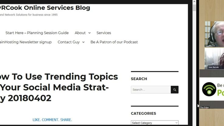 Trending topics show you what everyone is talking about on social media at that moment.  How to use them in your social media strategy is in this content