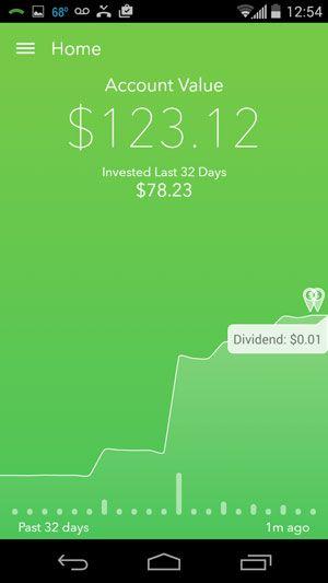Rounding Up Change + Investing It = Acorns App!