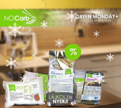 NoCarb termékek akciós áron 2015.12.13 és 2015.12.15 között és még nyerhetsz is! | Klikk a képre a részletekért!