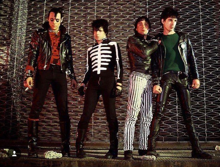 The Misfits- Jerry Only, Glenn Danzig, Joey Image & Bobby Steele