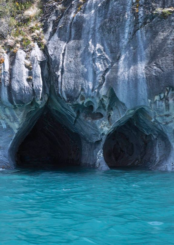 Marble Caves, Chico, Chile.