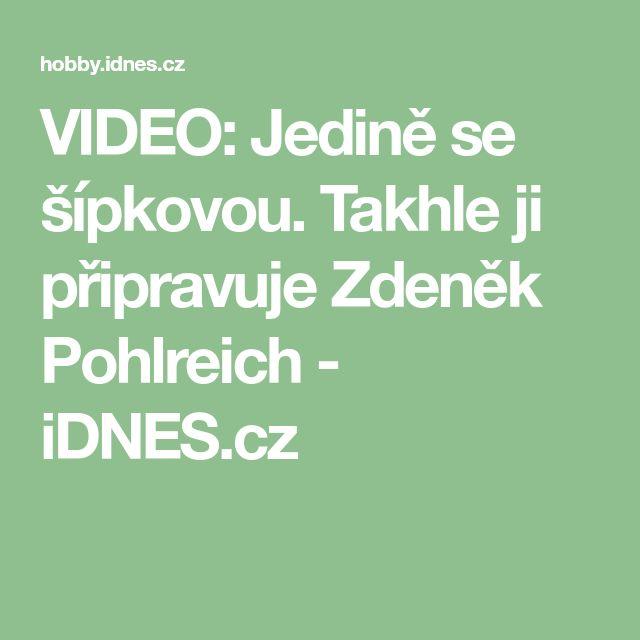VIDEO: Jedině se šípkovou. Takhle ji připravuje Zdeněk Pohlreich - iDNES.cz