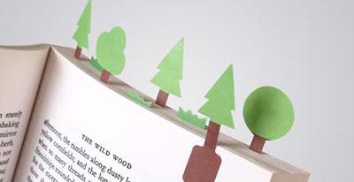 Omphalos: Segnalibri di carta – DIY