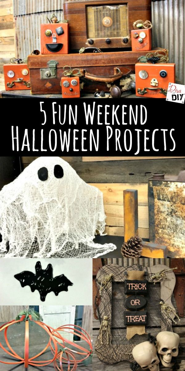 150 best Halloween Decor images on Pinterest Halloween decorations - cheap easy diy halloween decorations