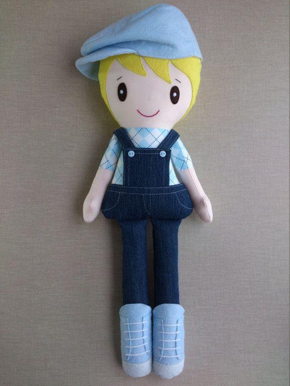 BLACKFRIDAY sale 15% off Rag doll Cloth by BlueButterfliesWorld