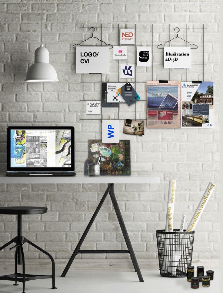 Visualisering, Photoshop collage/illustration mm. fra Grafikbutik.dk