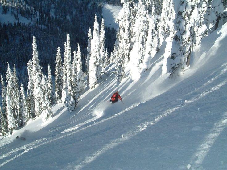 skiing in Revelstoke BC