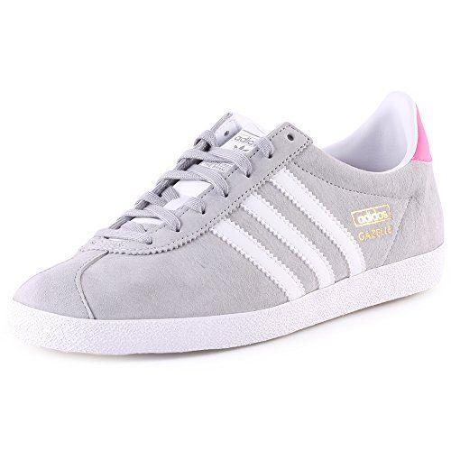 Adidas Gazelle Grise Et Blanche